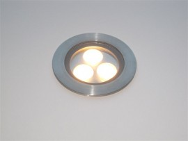 Deck 3 Watt LED Inground uplighter