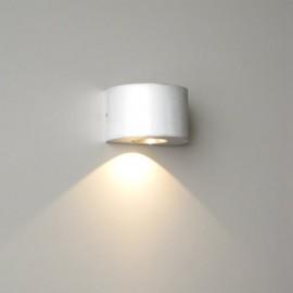 Semi-Columna 3Watt LED Wall Light (6015H)