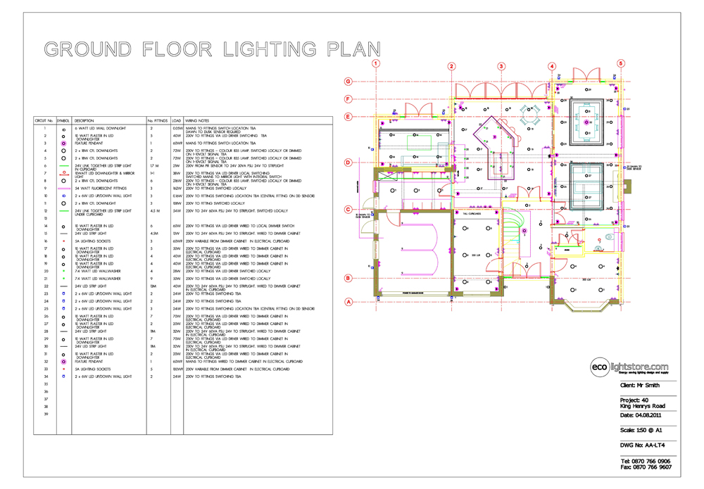 Eco Lighting Design And Supply