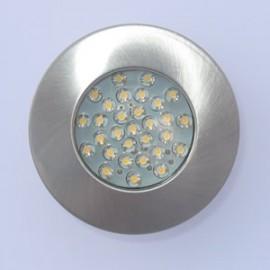Recessed 30 LED furniture downlighter (DLED11)