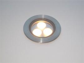 Deck 3 Watt LED Inground uplighter