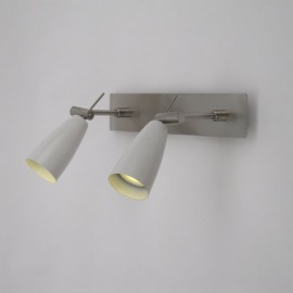 Twin Spotlight Bar - White GU10